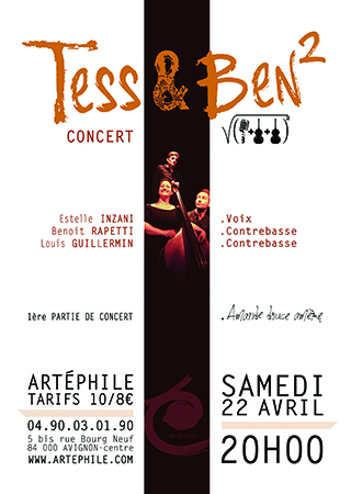 Affiche-TEss BEN²-22042017-image-ds-article